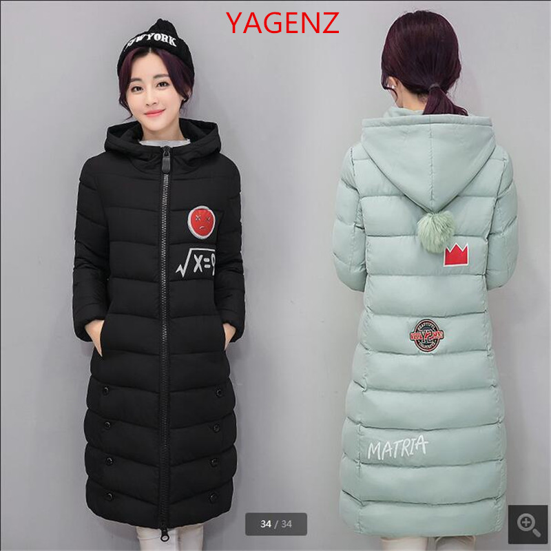 Online Shop Winter coats for young women Large size Winter jacket ...
