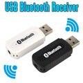 USB Bluetooth Dongle Адаптер Bluetooth A2DP Музыка Аудио Приемник Беспроводной Стерео 3.5 мм Разъем для Автомобиля Aux Android/IOS мобильный Телефон