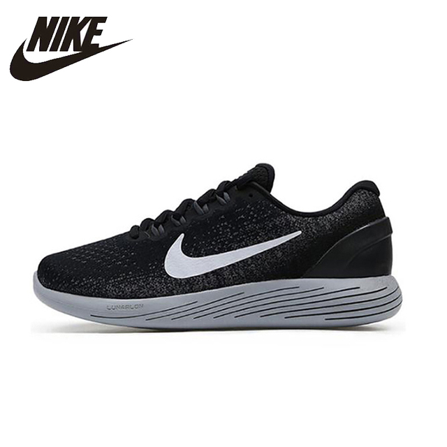 670e2bf48290 NIKE LUNARGLIDE 9 Mens Running Shoes Mesh Breathable Stability Support  Sports Sneakers For Men Shoes 904715-001