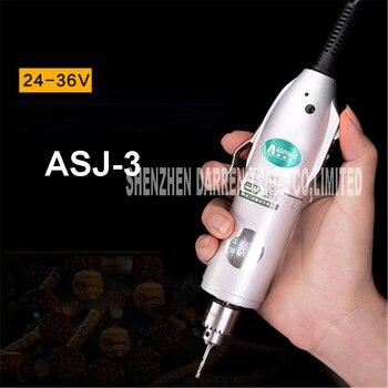 ASJ-3 Мини электрическая дрель шлифовальный набор аксессуаров Многофункциональный гравировальный станок набор инструментов Электрический ...