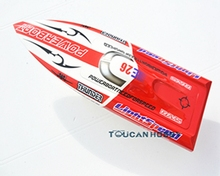 Fiber Glass Electric Brushless RC Racing Speed Boat Monohull KIT Deep Vee Hull Only E26 Toy Speed Boat