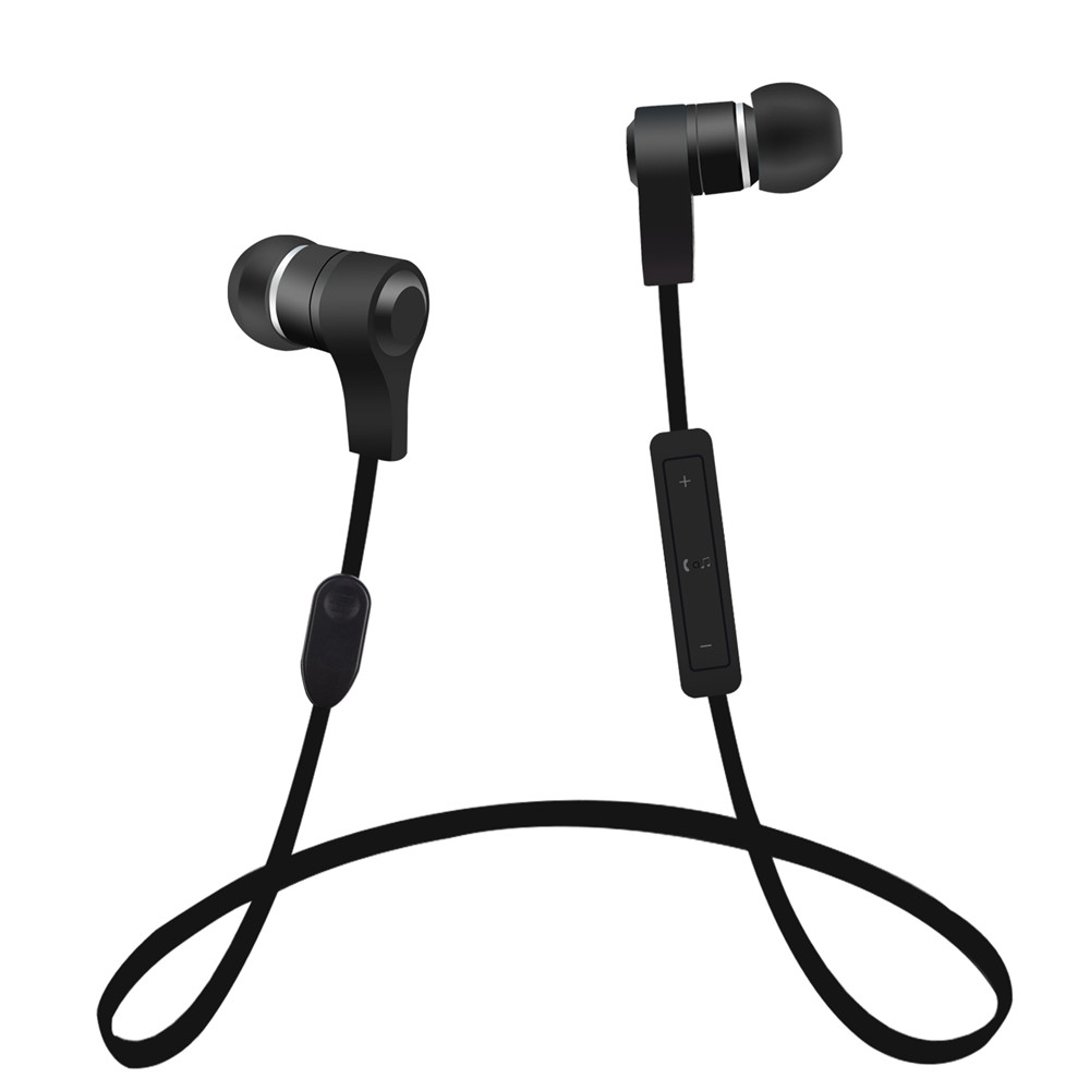 Desxz Wireless Bluetooth Sport Earphone Noise Cancelling Sweatproof Earbuds Magnetic Earphones with Microphone for Phone Headset huast v4 1 sport bluetooth earphone with mic wireless headphones bluetooth headset magnet earbuds for phone noise cancelling