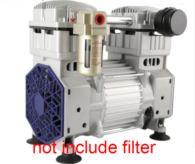 1550D Small Oil-free Vacuum Pump Head High Mini Vacuum Pump