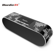 Bluedio AS (Air) Fashionable Dual Mode Wireless Wi-Fi & Bluetooth speakers Multi-room Sharing Simulation 3D Home speaker system