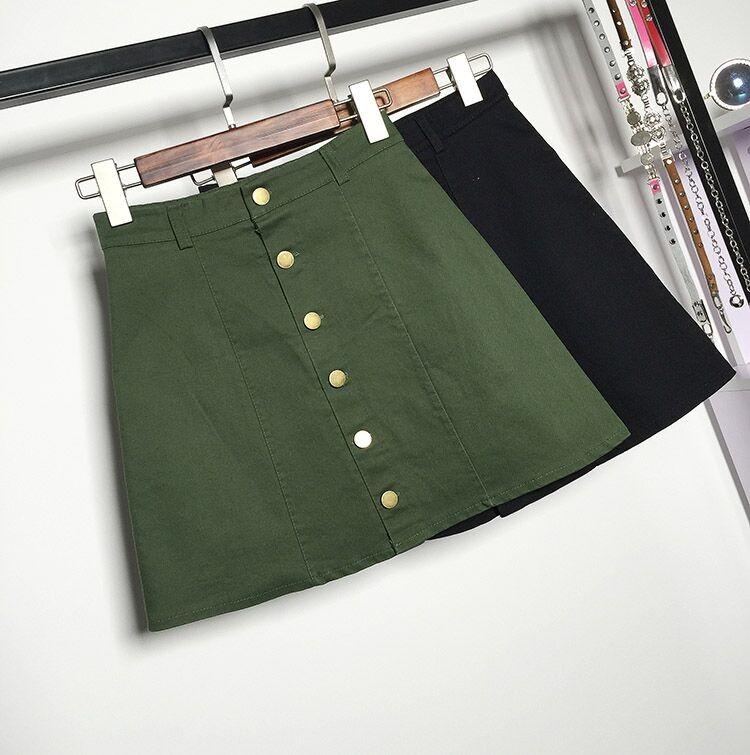HTB1DdUZMpXXXXbXXVXXq6xXFXXXo - American Apparel button Denim Skirt JKP265