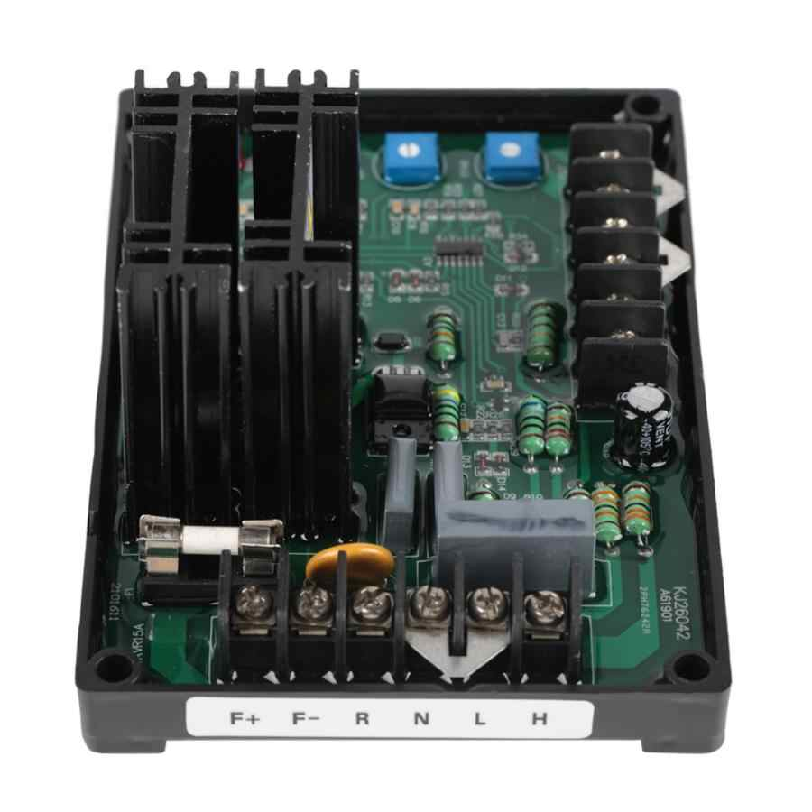 Generador de regulador de voltaje autom/ático 170-265V AC Generador GAVR-15A Grupo electr/ógeno de regulador de voltaje autom/ático