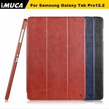 """iMUCA Tablet Note Case Magnetic Flip Cover For Samsung Galaxy Tab Pro 12.2"""" P900 P901 T900 Case Laptop & Tablet Accessories(China (Mainland))"""