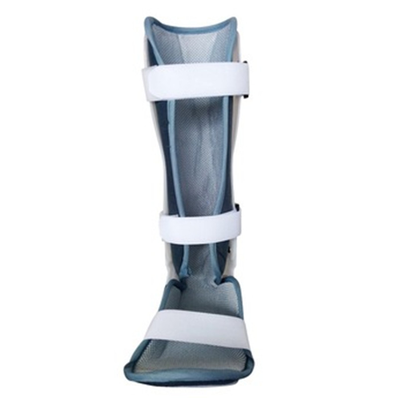 0 120 grad Einstellbar Klapp Knie Bein Brace Unterstützung Schützen Knie Ankle Brace Bänder Schaden Reparatur Schwarz/Grau medizinische Grade - 2