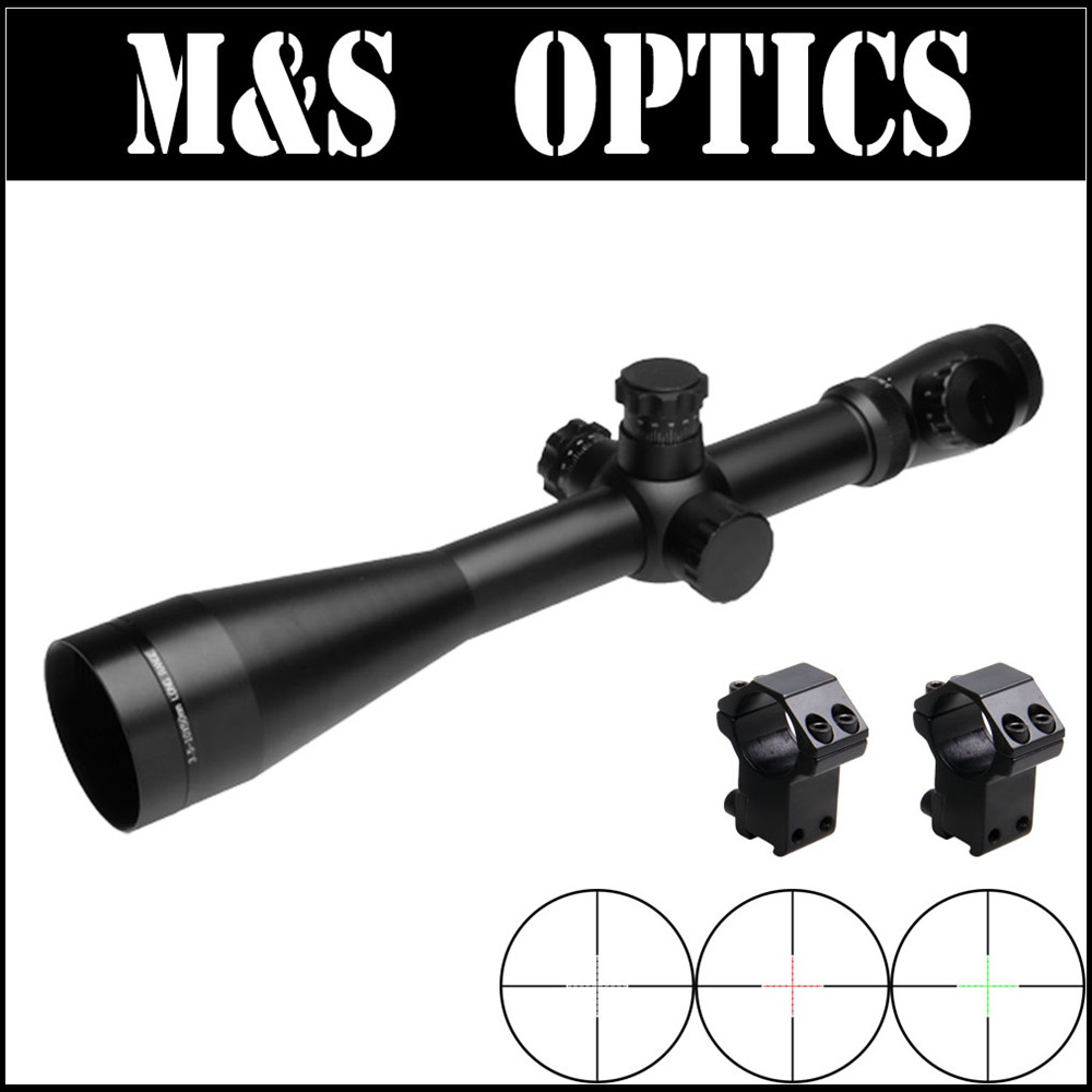 M1 3.5-10X50 SFRG Airsoft Air Rifle Guns Hunting Riflescope with Etched Reticle Free Scope 11mm / 20mm Rings Mount Made In China discovery vt t 4 5 18x44sfvf white leters reticle side shooting hunting riflescope rangefinder for airsoft air guns