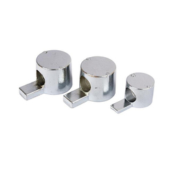 1PC EU Half Shaft built-in Connector Metal Carbon Steel Whistle Butt Joint Fixture for 20 30 40 45 Series Aluminum Profile