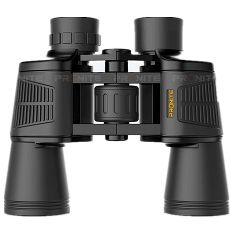 PRONITE <font><b>20X50</b></font> Hunting BAK4 Portable Binoculars Telescope Metal Body Eyepiece Center Focusing Camping Spyglass <font><b>Monocular</b></font> image