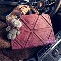 Envío libre, 2016 nuevos bolsos de mano, hombro de la manera, bolsa de mensajero triángulo geométrico mosaico, oso Correa del bolso.