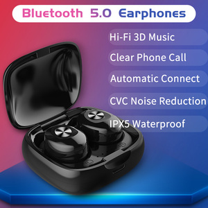 Image 2 - Bluetooth Earphone Wireless V5.0 TWS Mini Sport Earbuds 3D Stereo Music Bass Sound Gaming Headphones Driver Hands free Headset