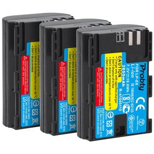 Image 5 - لكانون 2650mAh LP E6 LP E6 LPE6 بطارية لكاميرات كانون 5D مارك II III IV, 80D, 70D, 60D, 6D, EOS 5Ds, 5D2, 5D3, 5DSR, 5D4 كاميرا