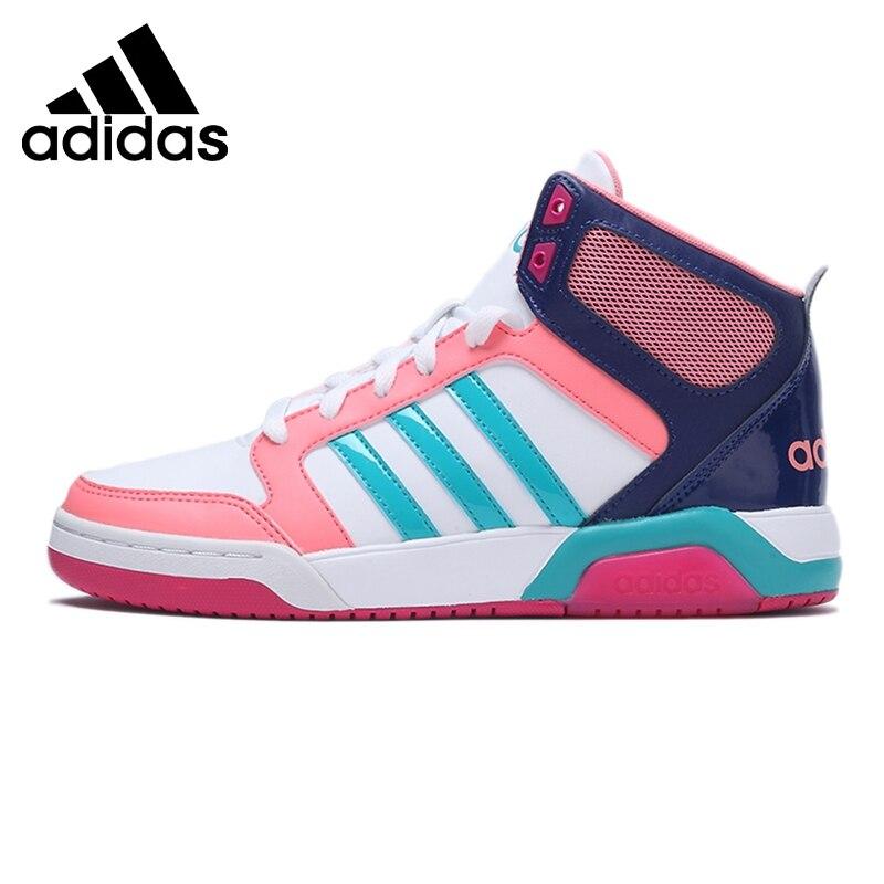 Prix pour Original Nouvelle Arrivée Adidas NEO Étiquette de Femmes High Top Planche À Roulettes Chaussures Sneakers
