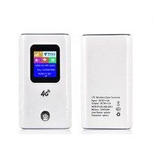 KuWFi 4G LTE routeur sans fil 4G 5200mAH batterie externe Portable Wi fi routeur avec fente pour carte Sim prend en charge 10 utilisateurs