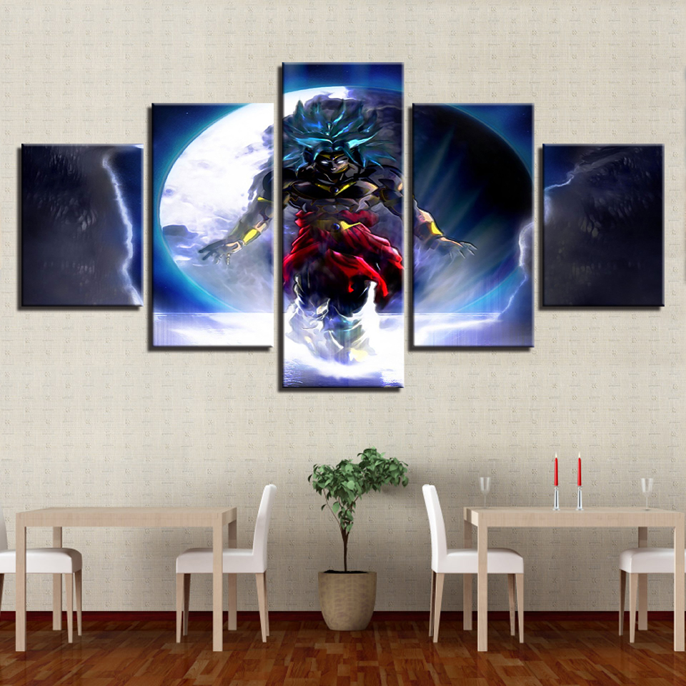 Canvas-Paintings-Home-Decor-Framework-HD-Prints-Poster-5-Pieces-Animated-Cartoon-Dragon-Ball-Pictures-For (1)