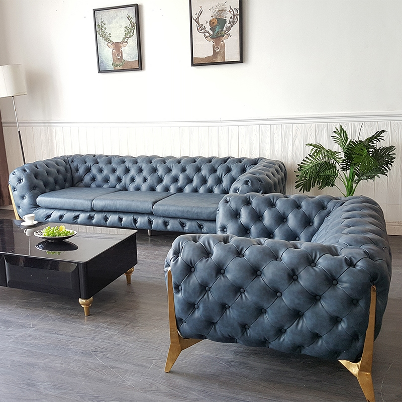 US $453.0  comfortable design blue home living room couch #CE 009-in Living  Room Sets from Furniture on Aliexpress.com   Alibaba Group