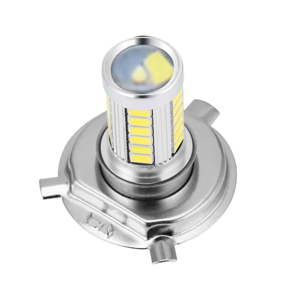 H4 33SMD 5630 LED Super Bright White Car Headlight Light Source Daytime Traffic Lights Bulb Lamp LED 12V 8W CAR