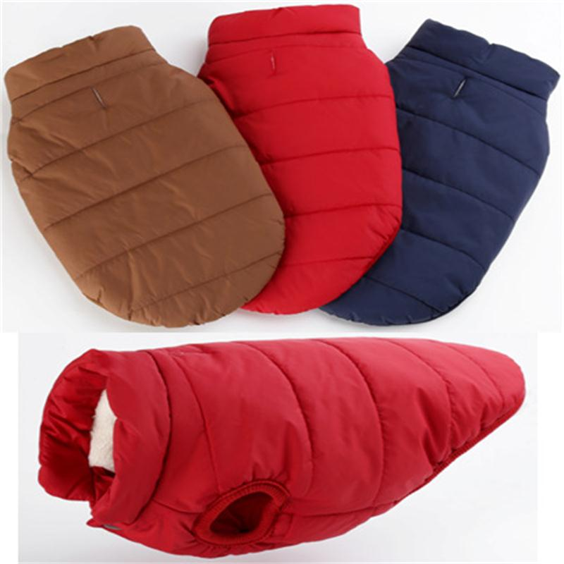 Top quality warm dogs pets clothing winter XS-XXXL cotton down coat for large small dogs winter clothes Pet Costume (3)