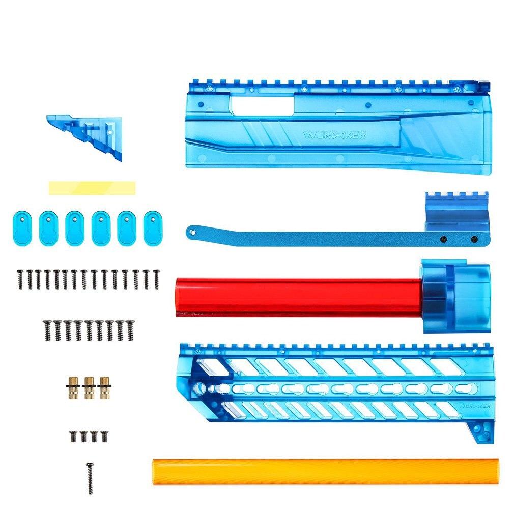 Ensemble de Kits de Mod de Style RMCX de YY-R-W001 ouvrier pour Kit de puissance Nerf n-strike Elite Stryfe Blaster accessoires et pièces de pistolet jouet