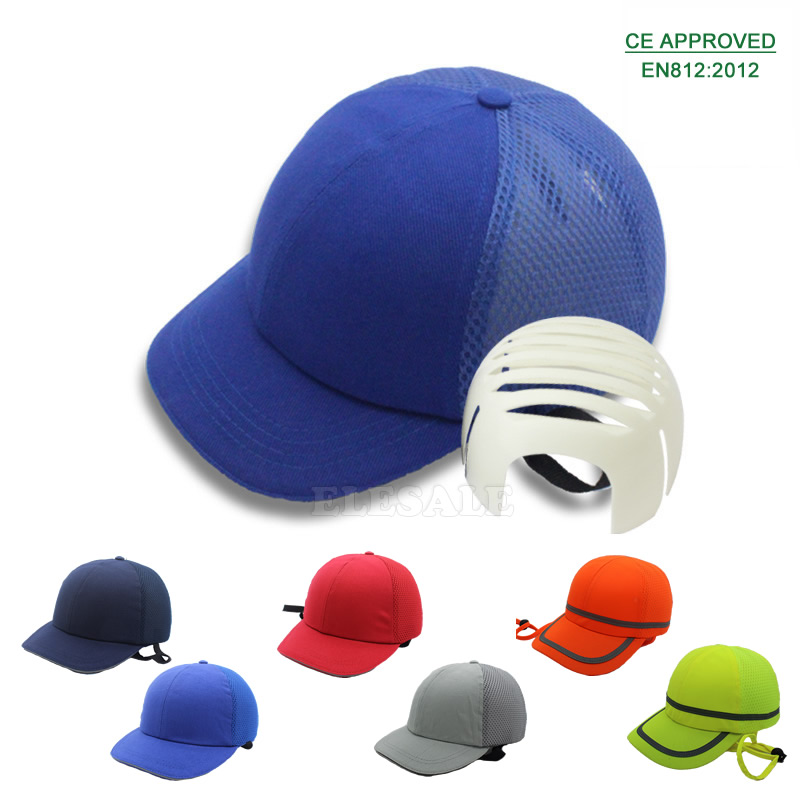 New Summer Bump Cap Baseball Hat Style Protective Hi-Viz Hard Hat Work Safety Helmet For Work Site Head Protection