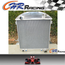 fits for Ford Model T Bucket Chevy Engine 1924-1927 aluminum radiator brand new(China)