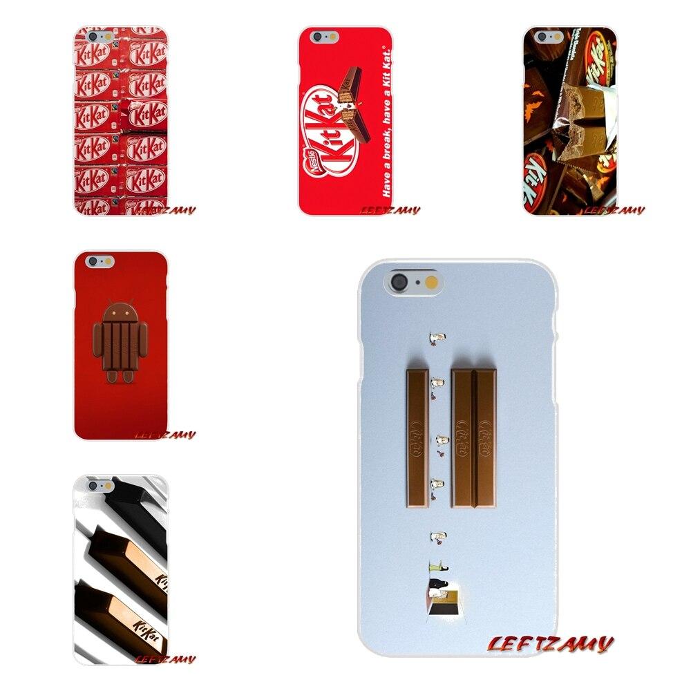 kit kat chocolate kitkat Art Slim Silicone phone Case For Sony Xperia Z Z1 Z2 Z3 Z4 Z5 compact M2 M4 M5 E3 T3 XA Aqua