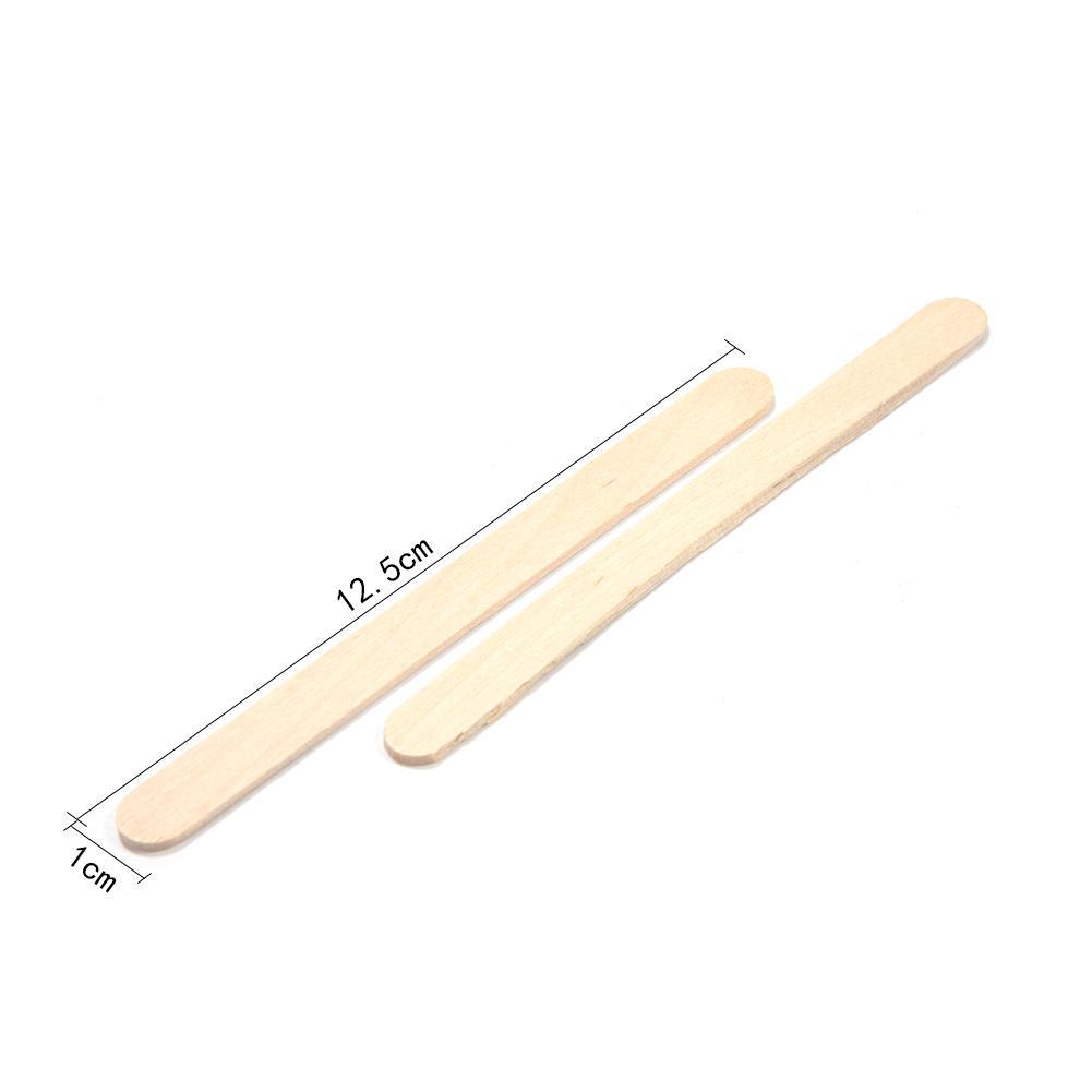 50 шт./партия цветные деревянные палочки для мороженого из натурального дерева палочки для мороженого Дети DIY ручной работы мороженое, конфета на палочке Инструменты для торта - Цвет: D
