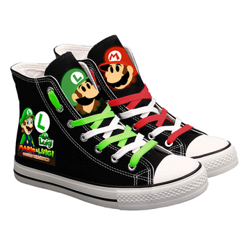 Cartoon Super Mario Printed Sneakers Men's Sports Sneakers Sports & Lifestyle Sports Shoes Women's Sports Sneakers