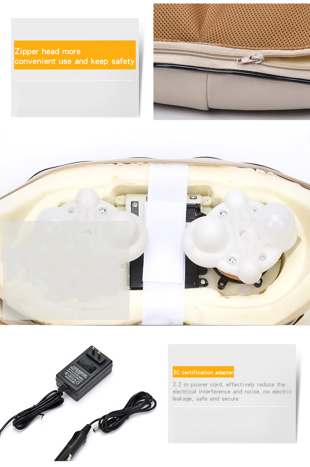 LaGuerir Multifunctional Body Massager for Cervical Neck Shoulder and Back Pain Deep Tissue Relief 2
