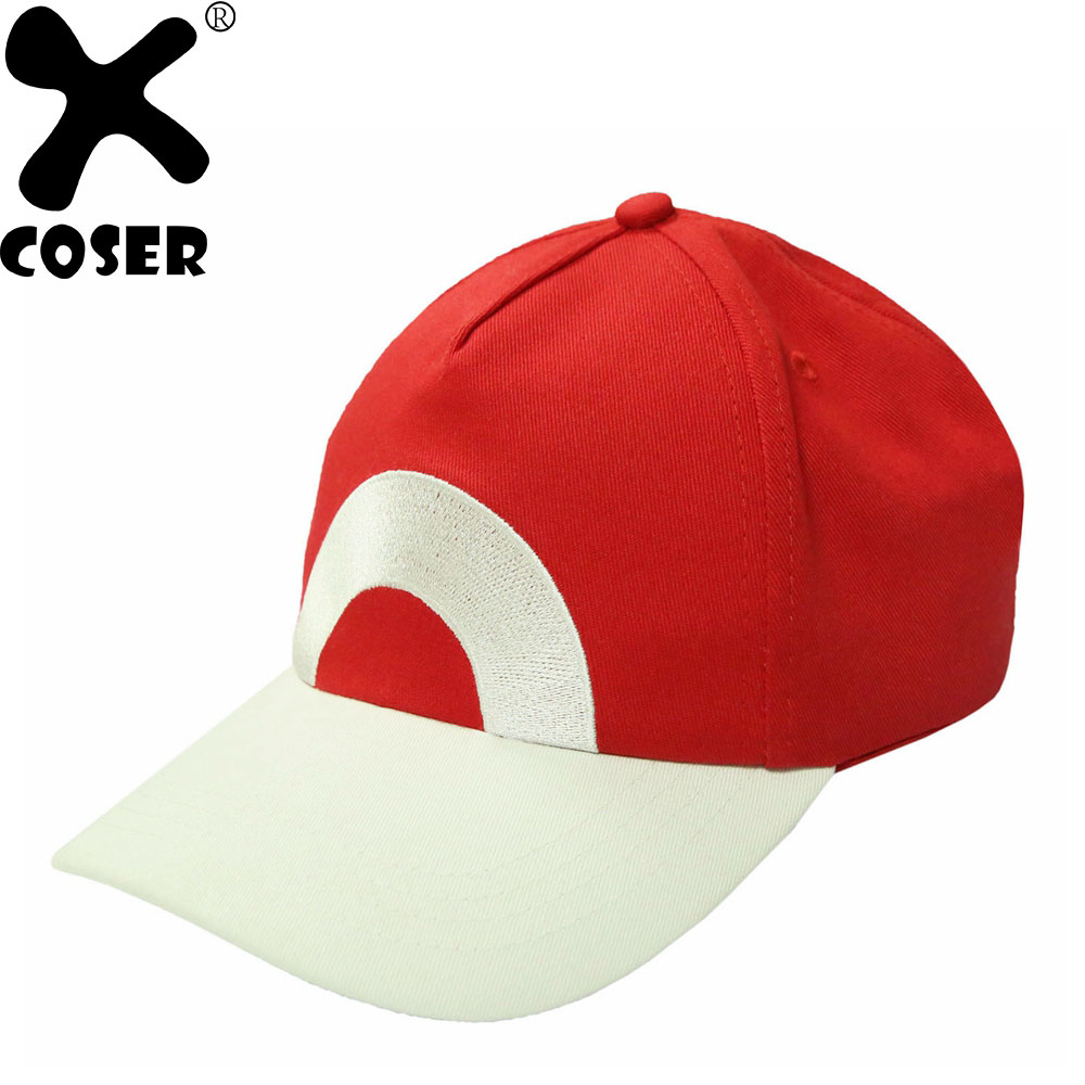 b7ef8ddaba1 XCOSER Pokemon Ash Ketchum Hat Adjustable Baseball Cap New Version Cosplay  Costume Accessories Christmas Gift For Women Men-in Movie   TV costumes  from ...