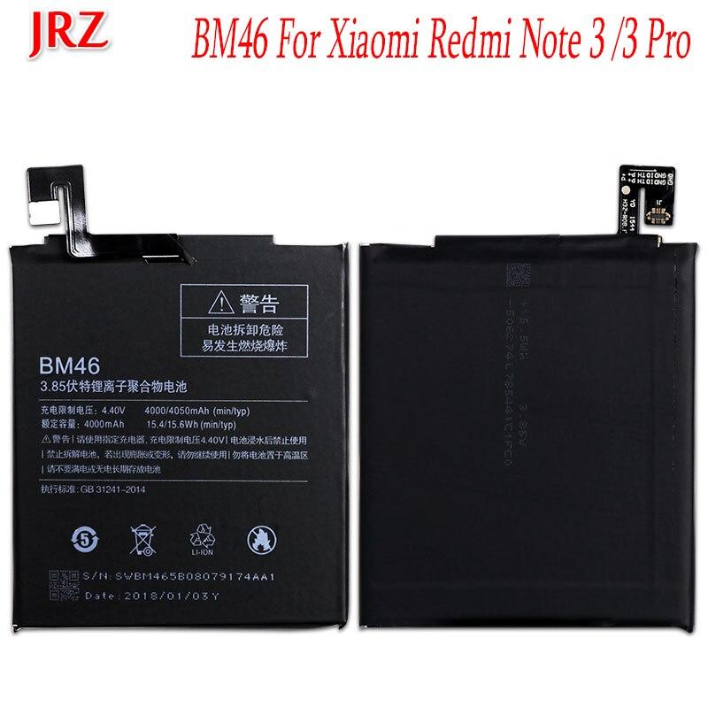 Accumulator BM46 4000mah-Battery Redmi Xiaomi Note-3 For Hongmi Note-3/Redmi/Note-3/Pro