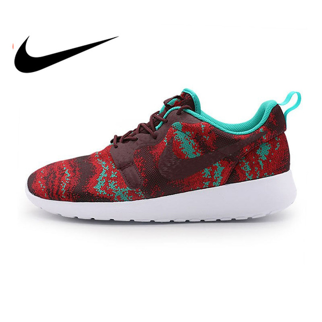 f3290023e5819 Original Nike Authentic ROSHE ONE KJCRD Men s Printed Running Shoes  Sneakers Outdoor Walking Sneakers Comfortable Athletic Fast