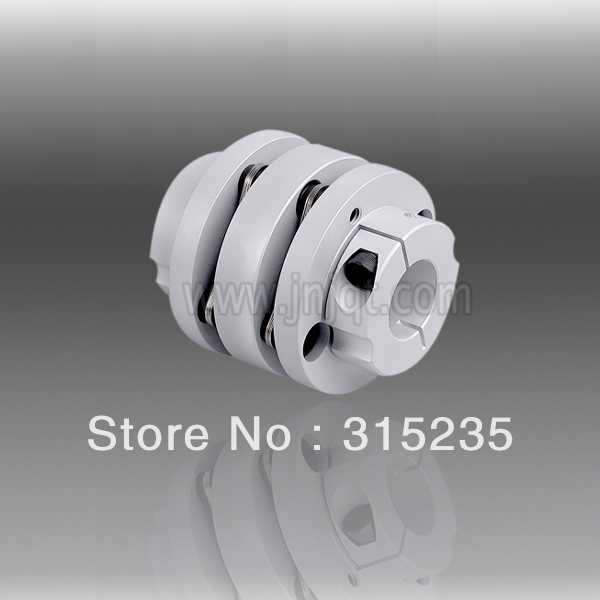 D82mm Coupler with Sleeve/ Flexible Disc Stepper Motor Coupling l45mm od56mm flexible double disc clampe coupling
