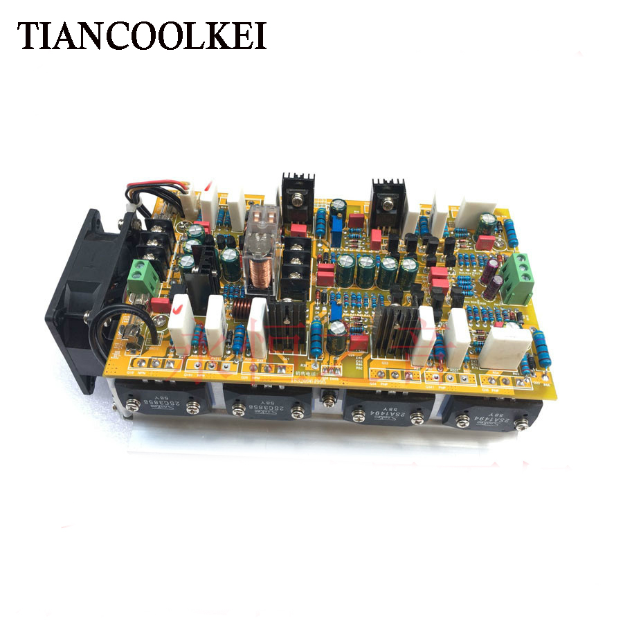 2017 New Amplifiers Hifi 2 0 A Class Stereo Amplifier Audio Dual Designed Symmetrical Preamplifier Channel High Amplificador 1200w Power Board In From Consumer