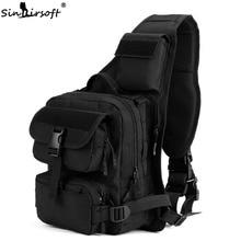 Sinairsoft Outdoor Sport Mászó Messenger Nylon táska Egyetlen váll Sling mellkasi Ranger hátizsák Taktikai katonai táskák