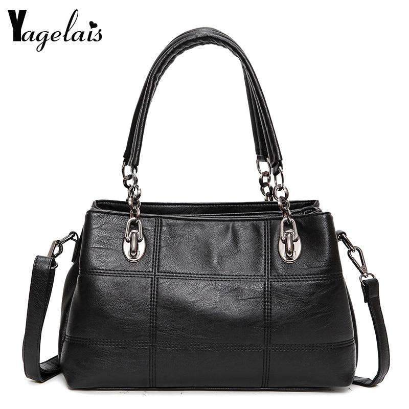 Fashion Single Strap Women Clutch Leather Ladies Single Shoulder Bags Crossbody Bags Soft Fashion Womens Handbags