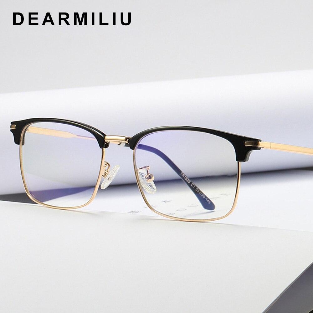 Dearmiliu Tr90 Frame Square Anti Blue Light Blocking