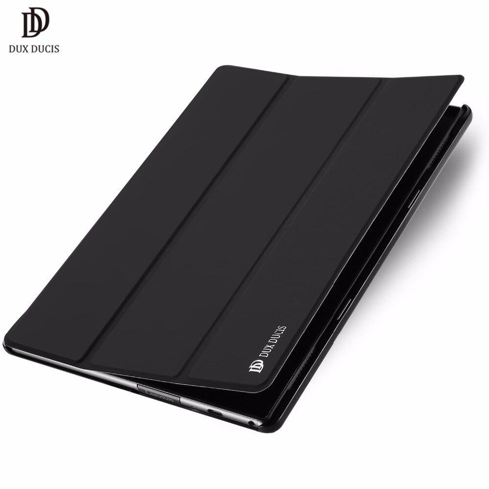 DUX DUCIS Luxury Flip PU Leather Case For Lenovo TAB 4 10 Plus Smart Book Cover For Lenovo TAB4 10 Plus TB-X704L TB-X704 10.1 dux ducis luxury flip pu leather case