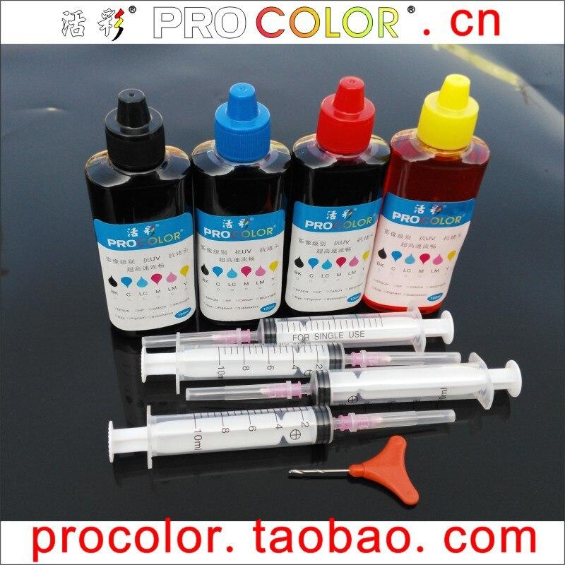 PG-240 BK Tinta de pigmento CL-241 Kit de recarga de tinta colorante - Electrónica de oficina