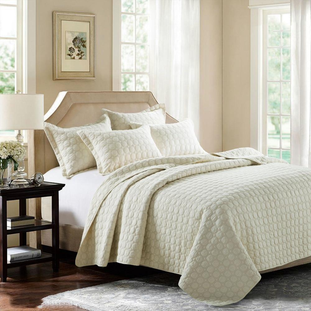 beige matelass couvre lit achetez des lots petit prix. Black Bedroom Furniture Sets. Home Design Ideas