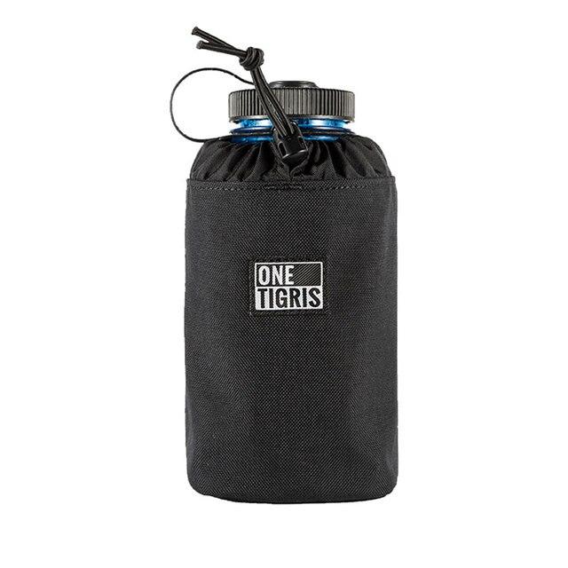 c8d2ac986b OneTigris Tactical EDC Water Bottle Pouch MOLLE Sport SNIPER Water Bottle  Holder Bag Plus Size Drawstring Bottle Holder
