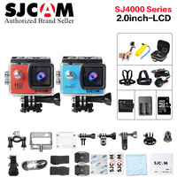 Original Sjcam SJ4000 Series 2 0 Screen Sj4000 SJ4000 WIFI 1080P HD 30M Waterproof Diving SJ