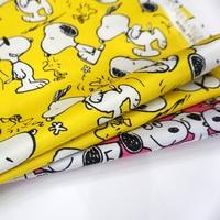 145 cm * 45 cm PVC Nylon Kawaii Cane Impermeabile Tessuto Patchwork di Stoffa Fatti A Mano Da Cucire Materiale Tessuti Tessili per la casa per tavolo