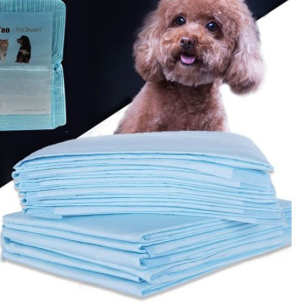 Super Absorbent Diaper Pet Dog Training Urine Pad Pet Diapers Size S-XL Deodorant Antibacterial Pet Dog Nappy