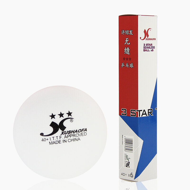 72 balls XuShaoFa Table Tennis Ball 3 Star 40 XSF Seamless ITTF Approved New Material plastic