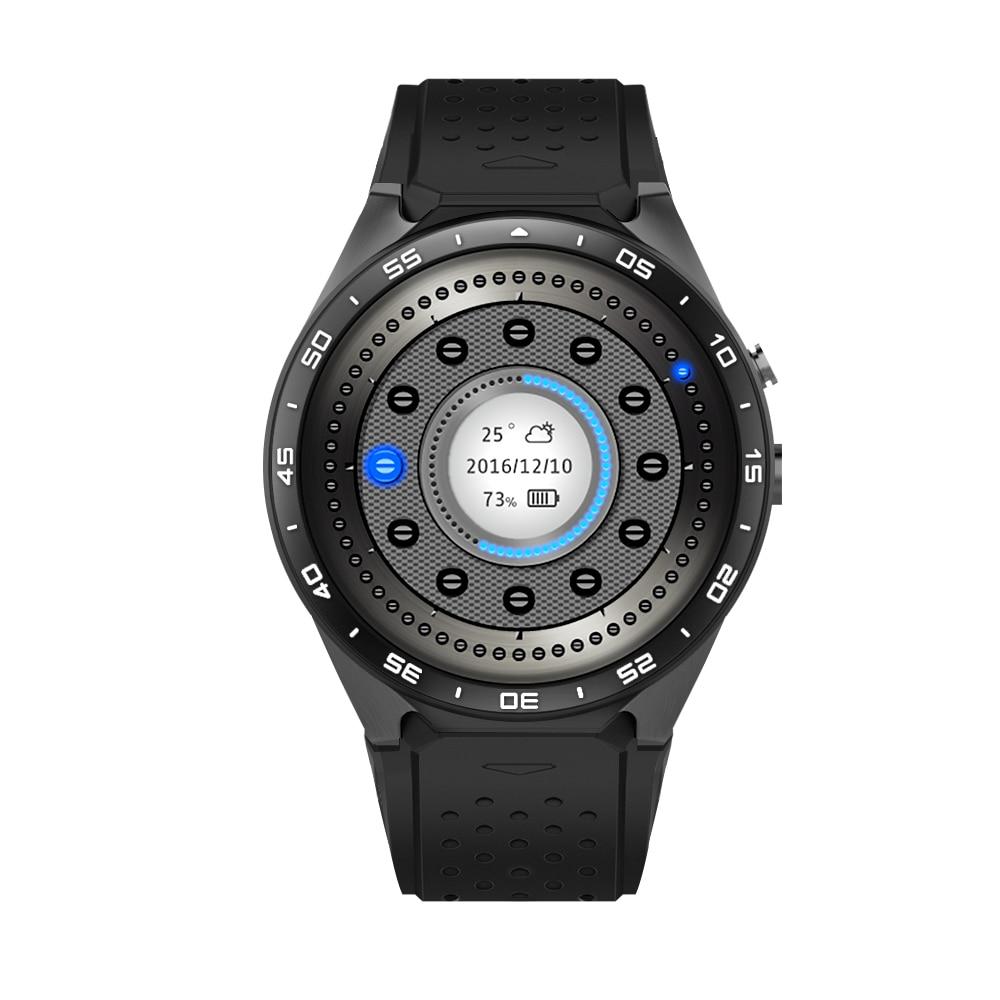 Hot Koop KW88 Smart horloge Android 5.1 MTK6580 CPU 1.39 inch 3G Wifi Smartwatch voor Samsung Huawei Telefoon Horloge PK GT88 KW - 5