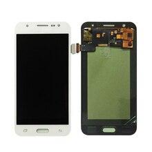 Дешевые Можно настроить яркость samsung GALAXY J5 J500 J500F J500FN J500M J500H 2015 ЖК-дисплей Дисплей + Сенсорный экран планшета Ассамблеи