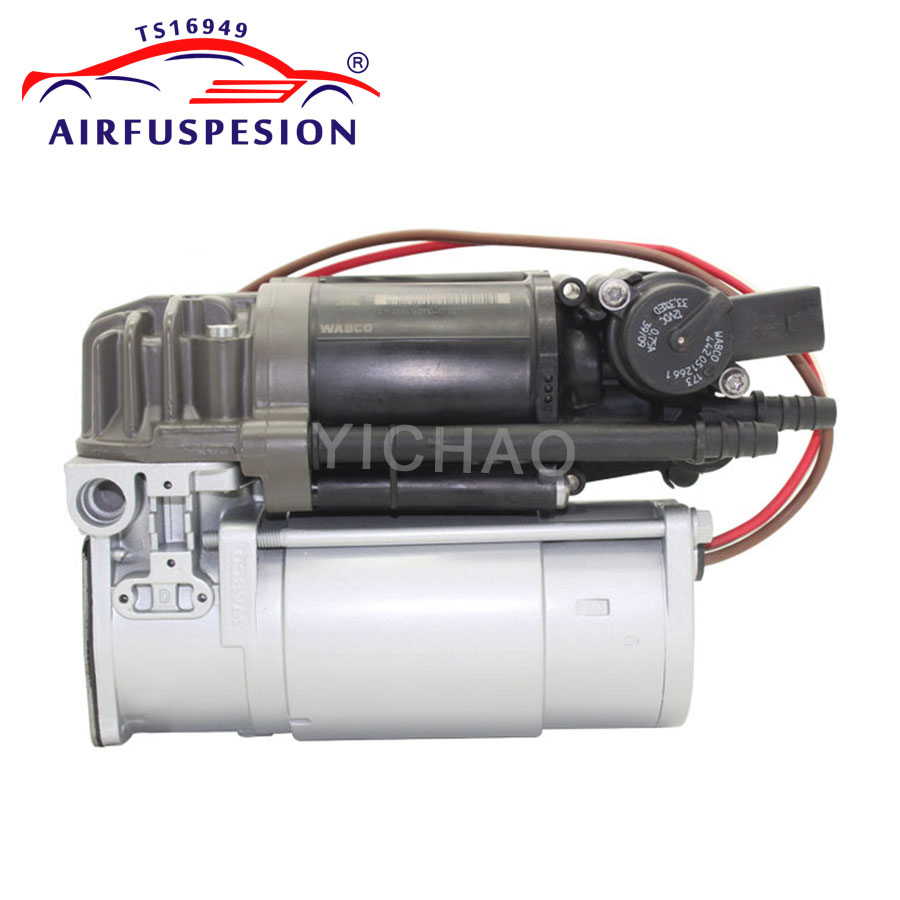 For Mercedes benz W212 S212 C218 E class E350 E550 E250 Air Suspension Compressor pump WABCO 2123200104 2123200404 2010 2015